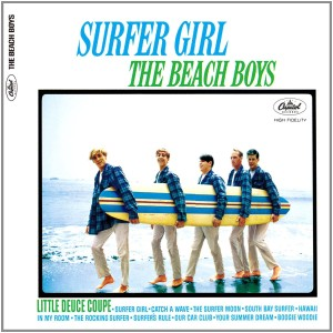 De albumhoes van Surfer Girl (1963)