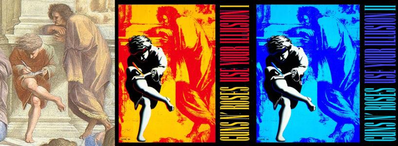 Albumhoezen van Use Your Illusion