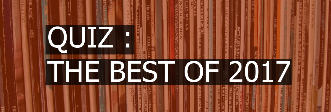 Best of 2017 albumhoezen quiz