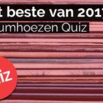 Het beste van 2017 albumhoezen-quiz