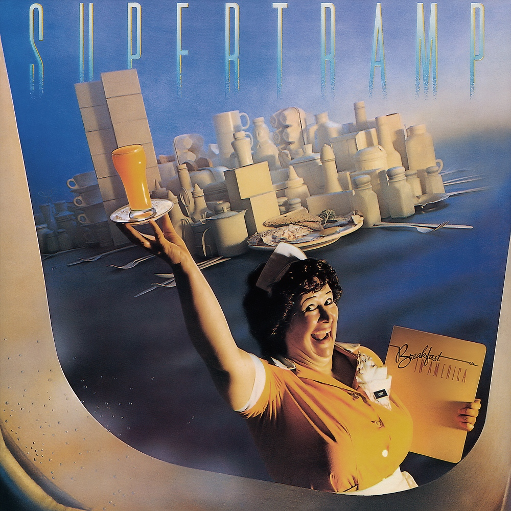 Breakfast in America - Supertramp albumhoes