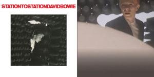 De hoes en het screenshot van Bowie's Station to Station