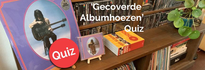 'Gecoverde Albumhoezen' -quiz